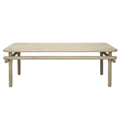 Woomar coffee table natural oak