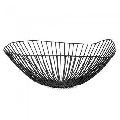 Cesira fruit basket black