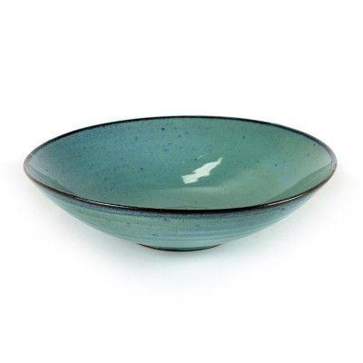 Assiette à soupe Aqua turquoise Ø23 cm
