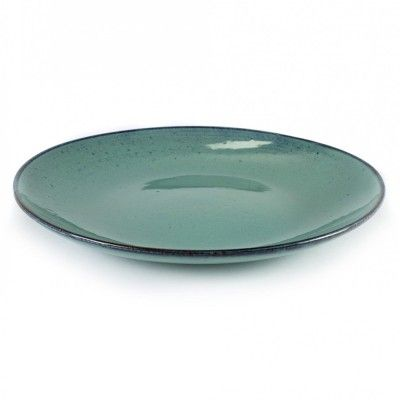 Big plate Aqua turquoise Ø28,5 cm (set of 4)