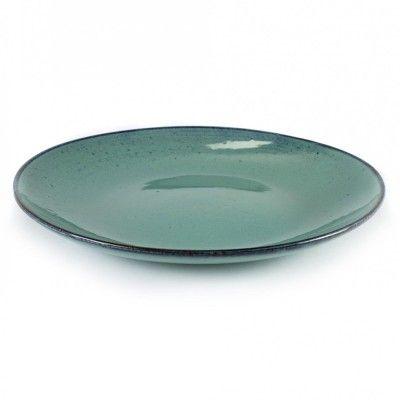 Grande Assiette Aqua turquoise Ø28,5 cm (lot de 4)