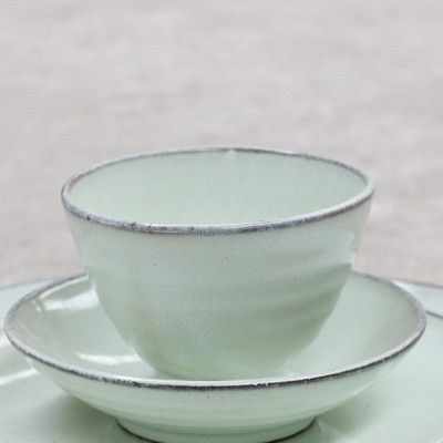 Cup conic Aqua clear Ø11 cm (set of 6) Serax