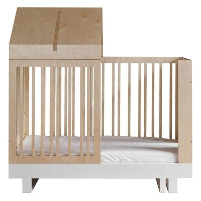 The Roof convertible crib set 120 x 60 cm Kutikai