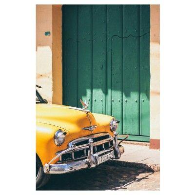 Cars of Cuba N.4 poster