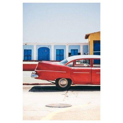 Cars of Cuba N.5 poster