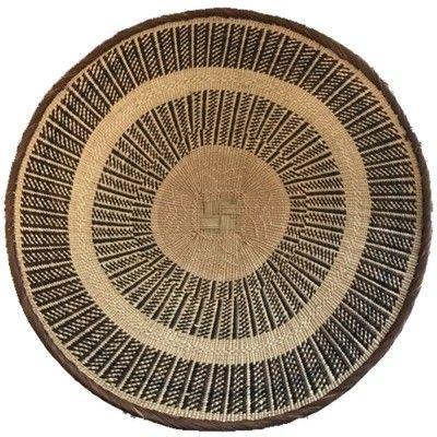 Wall basket 55cm natural 2