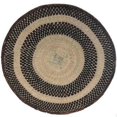 Wall basket 60cm natural 2
