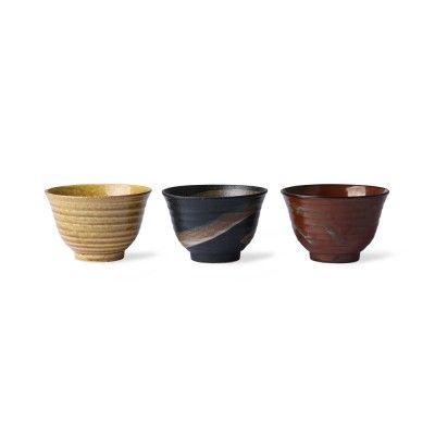 Matcha japanese bowls (set of 3)