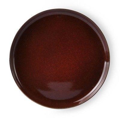 Bold & Basic dinner plate cerise Ø28 cm (set of 6) HK Living