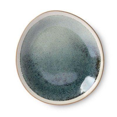 Ceramic 70's side plate mist Ø22 cm (set of 6) HK Living