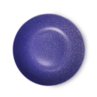 Bold & Basic deep plate purple Ø22 cm (set of 6) HK Living