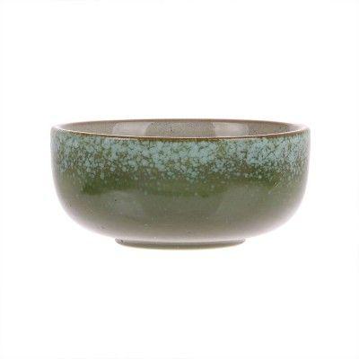 Ceramic 70's bowls Bark (set of 4) HK Living