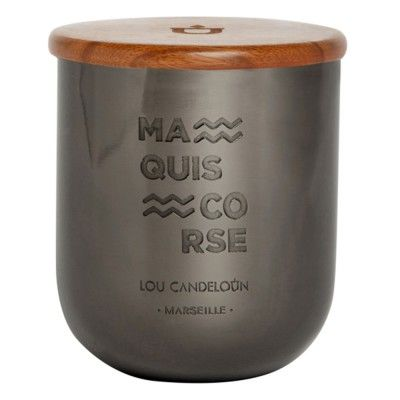 Bougie parfumée 280g Maquis Corse Lou Candeloun