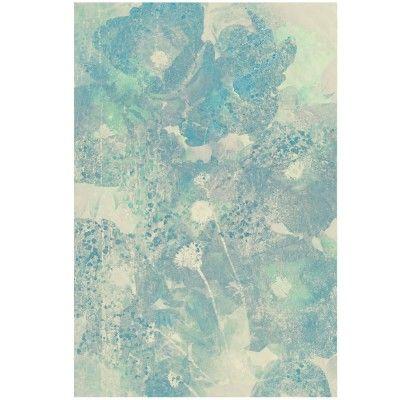 Blue abstraction poster David & David Studio