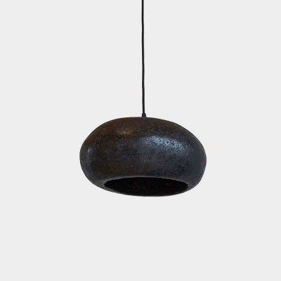 Pebble pendant lamp coal M AY Illuminate