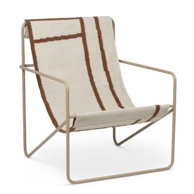 Desert Lounge Chair shape Ferm Living