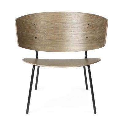 Chaise lounge Herman chêne teinté foncé Ferm Living
