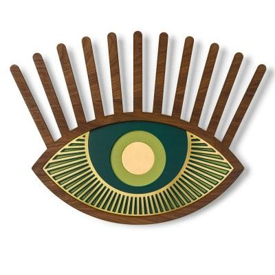 Eye wall decoration n°6 Umasqu