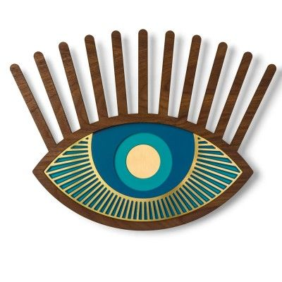 Eye wall decoration n°7 Umasqu