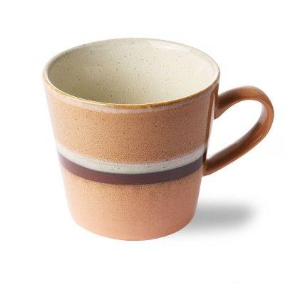Tasse à Cappuccino en céramique 70's stream HK Living