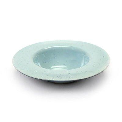 Assiette dégustation Terres de Rêves bleu ciel & bleu fumé Ø21 cm Serax