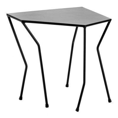 Table d'appoint Ragno noir 54 x 30 cm Serax