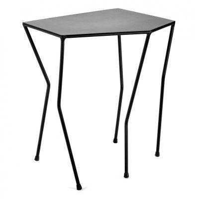 Ragno side table black 45 x 32 cm Serax