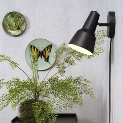 Valencia wall lamp black It's About RoMi