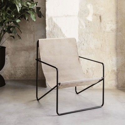 Desert Lounge Chair cashmere Ferm Living