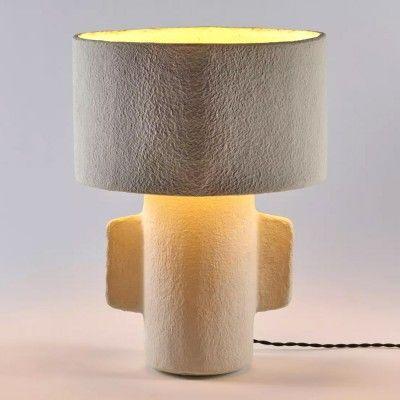 Lampe de table Earth H46 cm blanc Serax