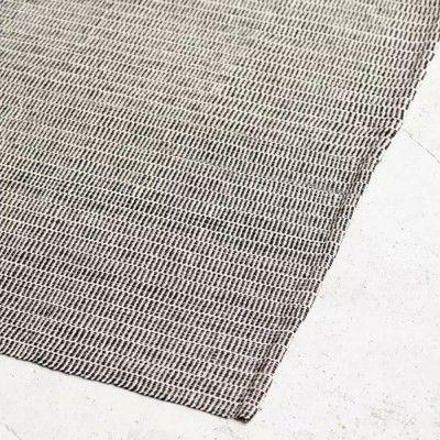 Shell rug black Serax