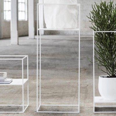 Plant Display rack L white Serax