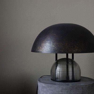 Lampe de table Umbra marron antique House Doctor