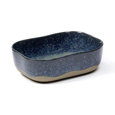 Assiette creuse Merci n°6 M bleu gris Serax