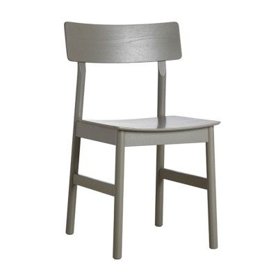 Pause dining chair 2.0 taupe painted ash Woud