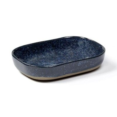 Deep plate Merci n°7 M blue grey Serax
