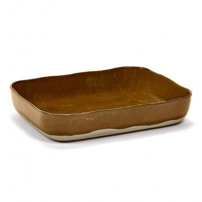 Oven dish Merci n°10 ochre brown Serax