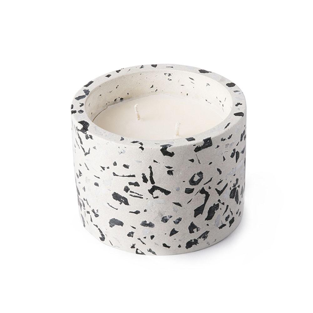 Terrazzo Coconut candle M