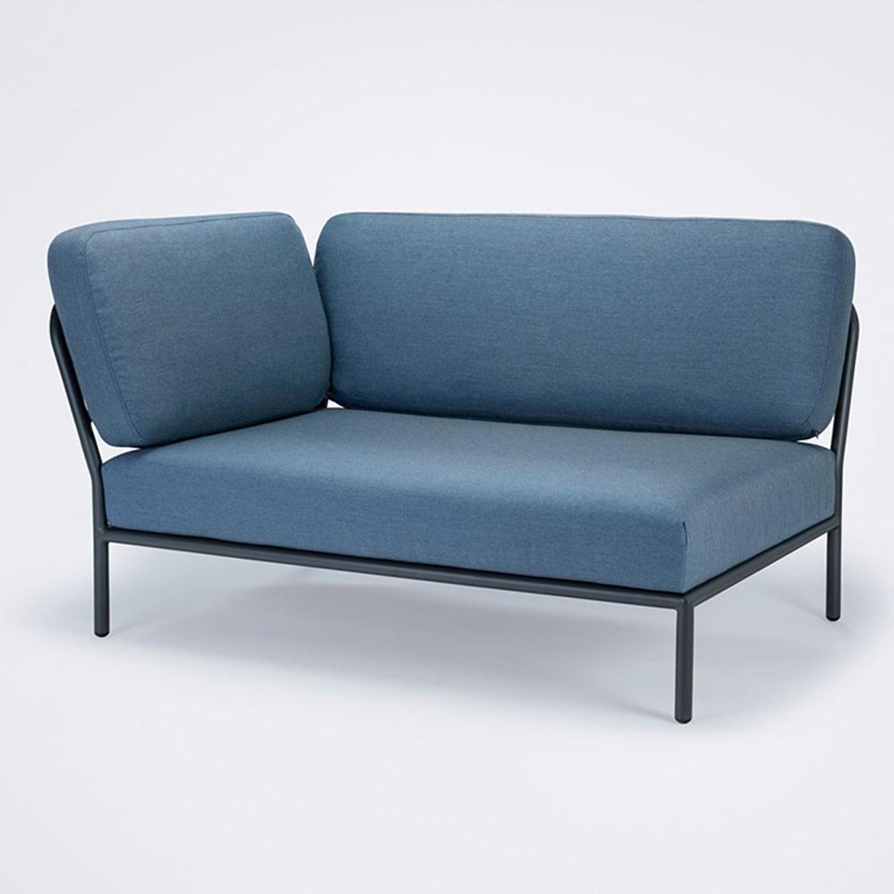 Level lounge sofa carbon sky