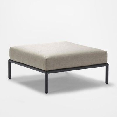 Level lounge ottoman beige Houe