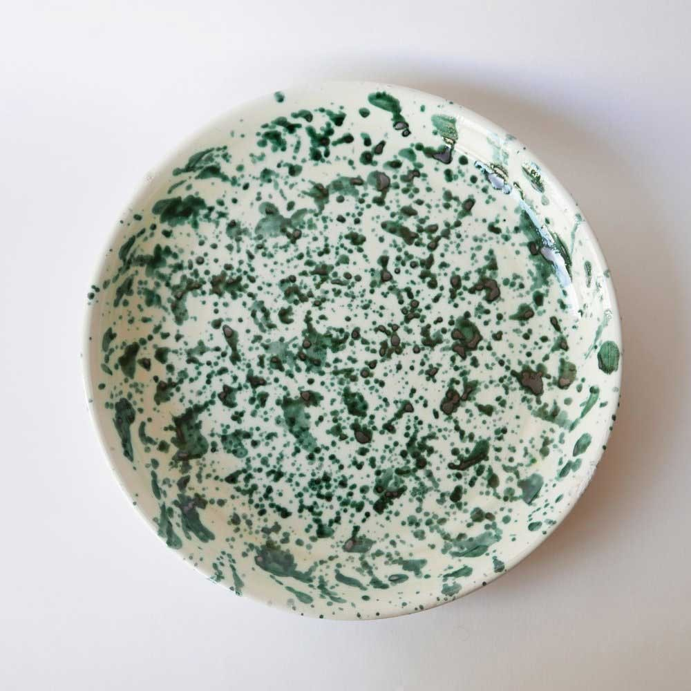 Large plate Green
