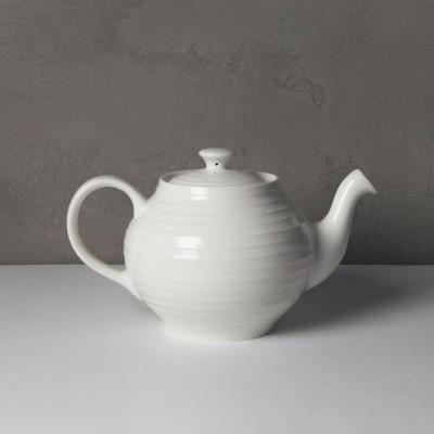 Stripe tea pot