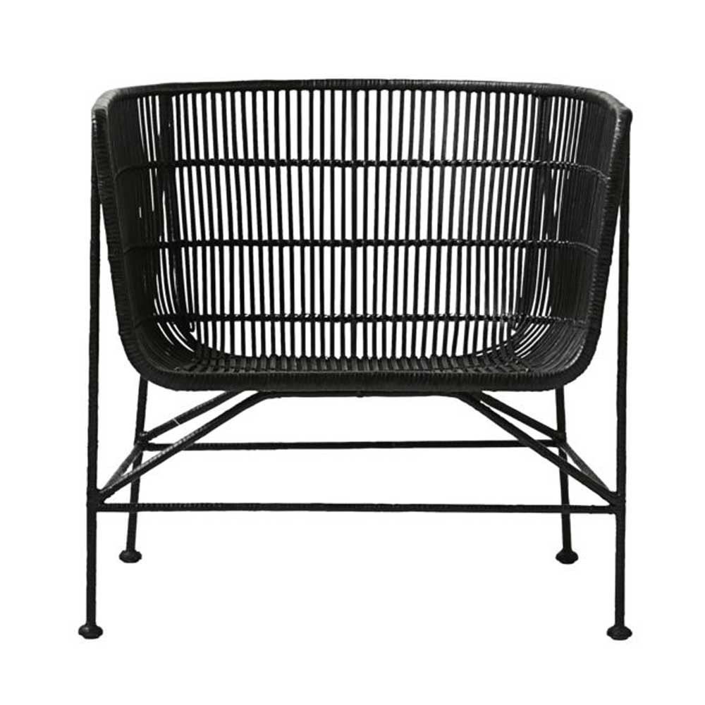 Coon armchair black