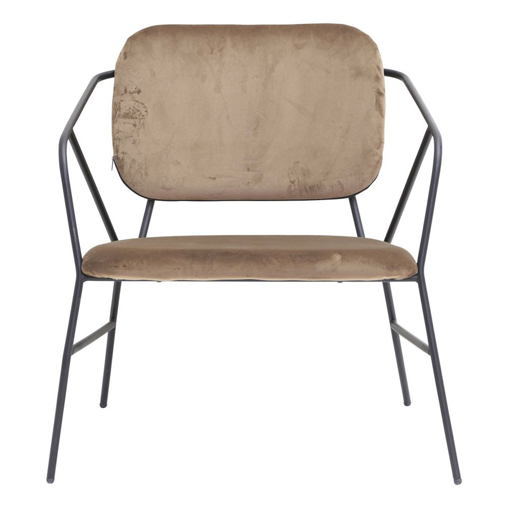 Klever lounge chair mustard