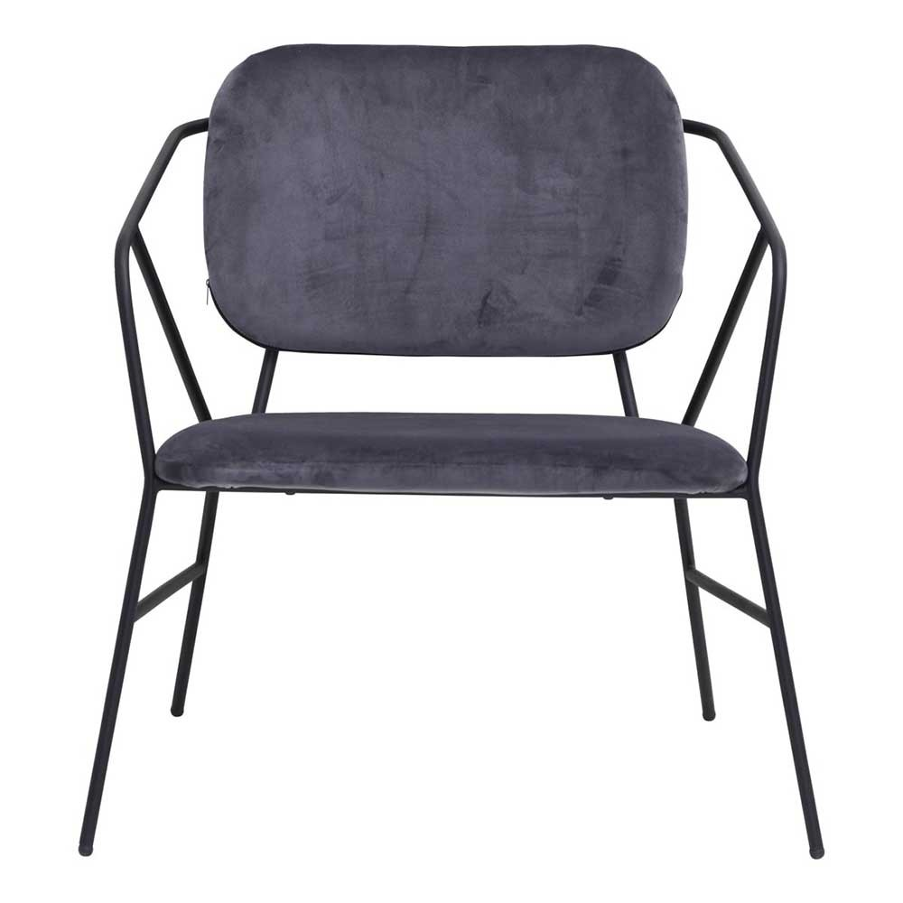 Klever lounge chair grey