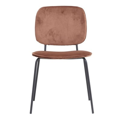 Comma chair rust