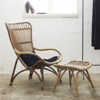 Fauteuil Monet naturel Sika-Design