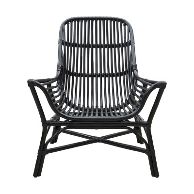 Colony lounge chair black