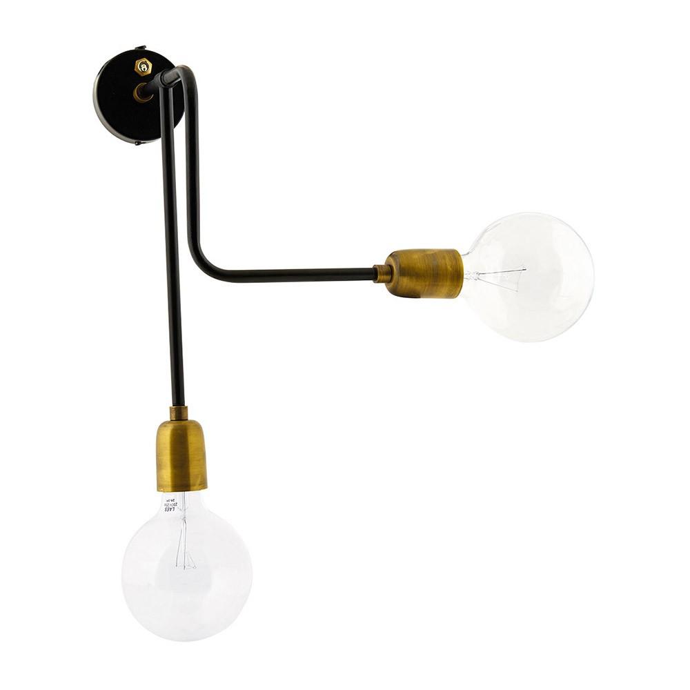 Molecular wall lamp double