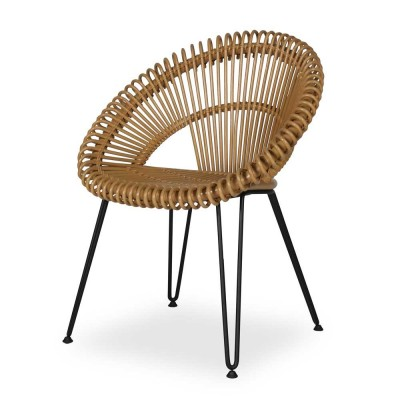 Chaise Curly naturel Vincent Sheppard